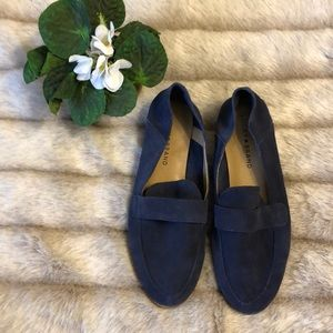 Lucky Brand Blue Suede Loafers